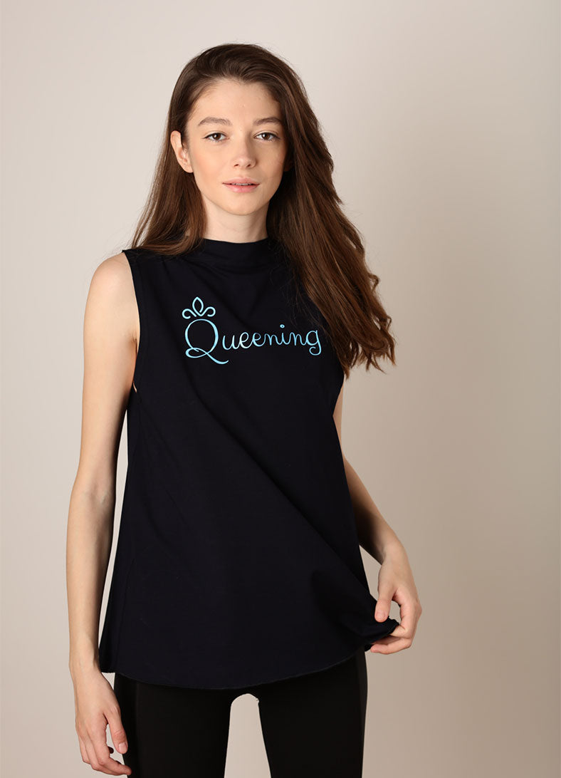 Maiou Queening - Navy - Azuroo Activewear