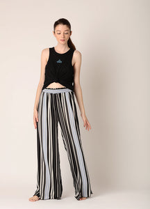 Pantaloni Black&Blue Stripes - Azuroo Activewear