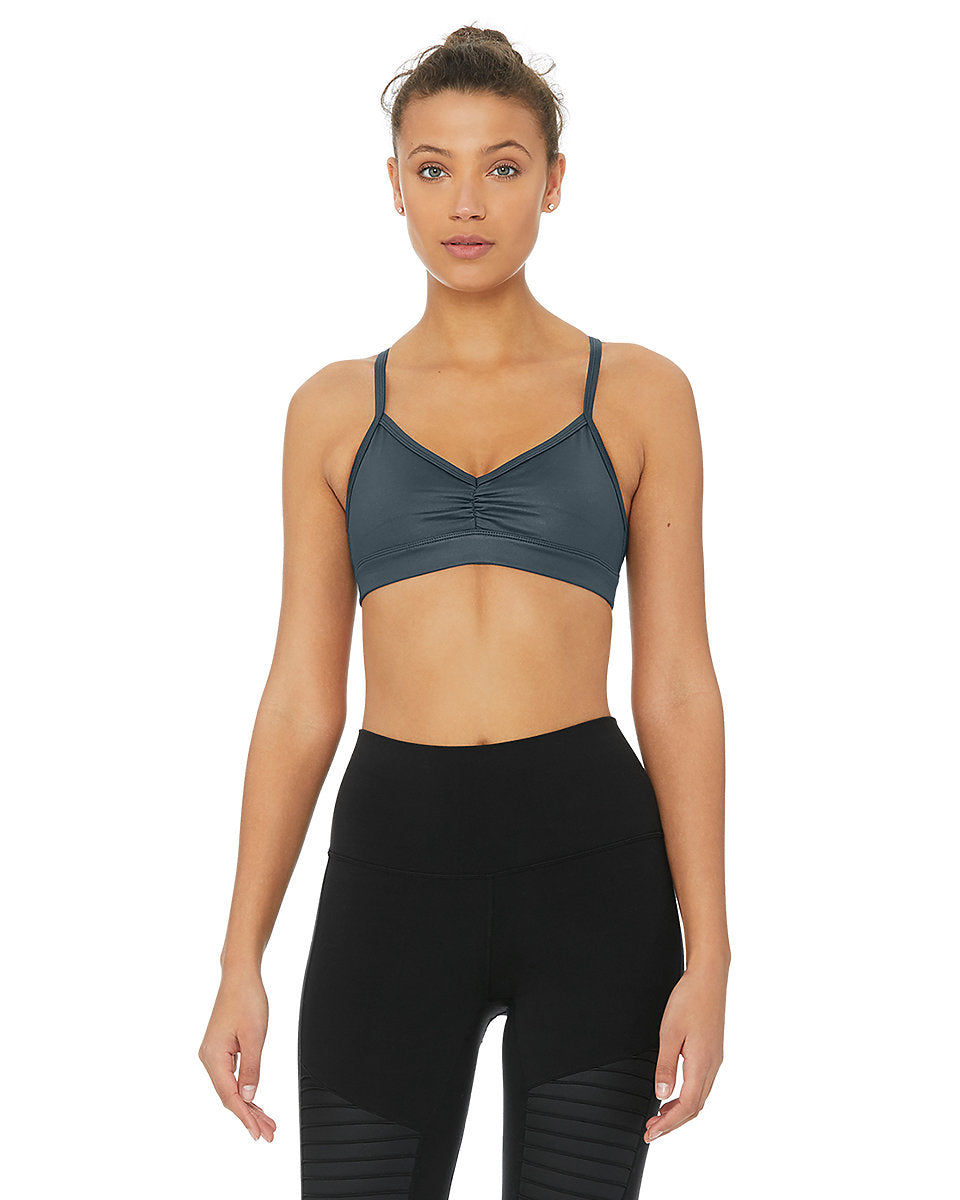 Sunny Strappy Bra - Eclipse Glossy - Azuroo Activewear