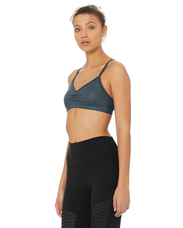 Bustiera Sunny Strappy - Eclipse Glossy - Azuroo Activewear