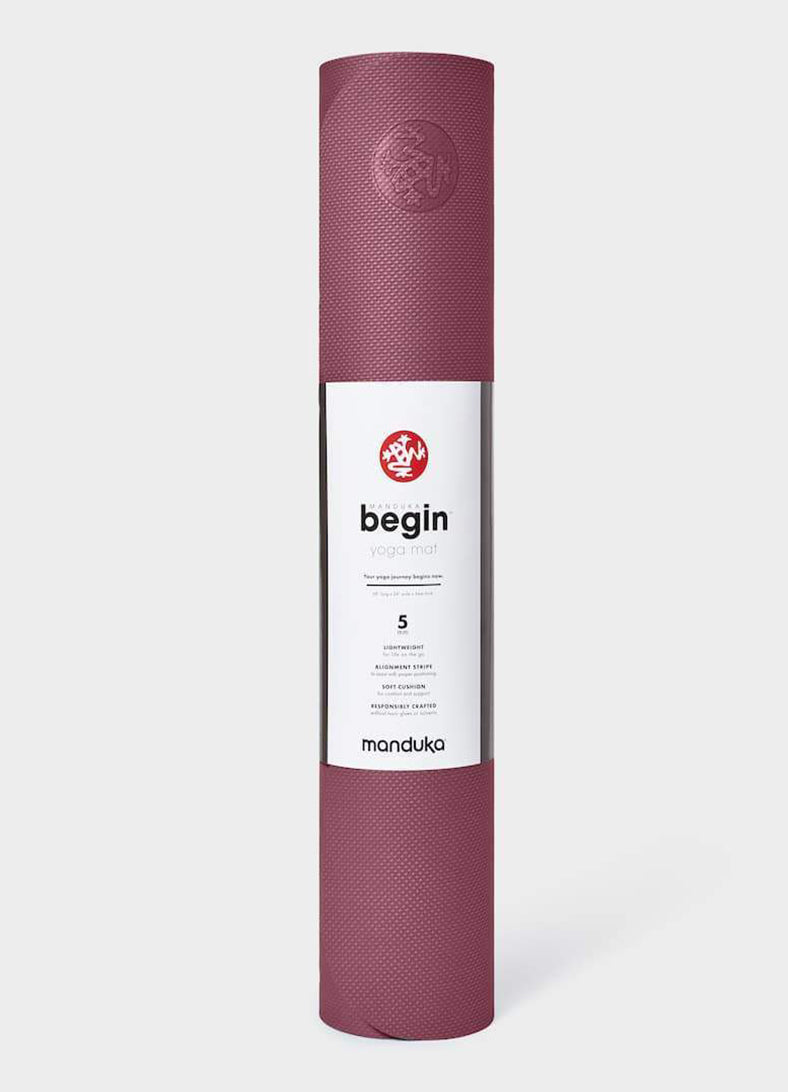 Saltea de Yoga Begin 5mm  – Rose - Azuroo Activewear