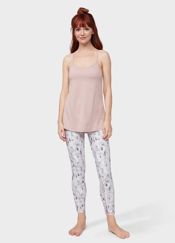 Essential Printed Legging - Elemental Print - Azuroo Activewear