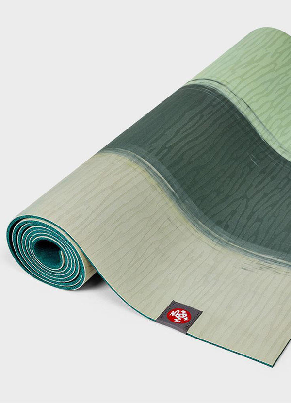 Saltea de Yoga EKOlite 4mm – Green Ash Stripe - Azuroo Activewear