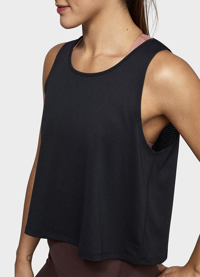 Maiou Breeze Crop - Negru - Azuroo Activewear
