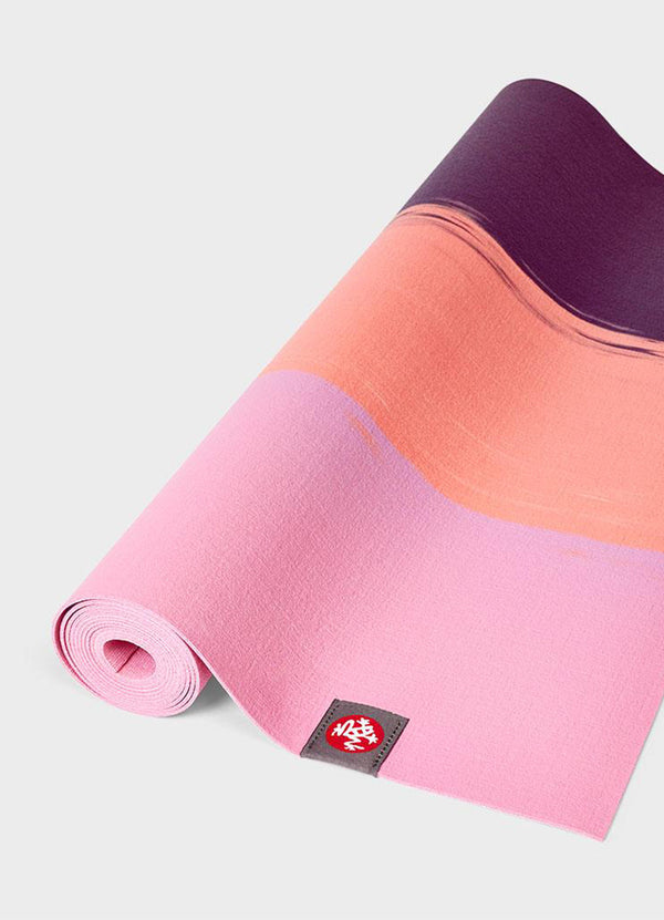 Saltea de Yoga EKO Travel Superlite - Fuchsia Stripe - Azuroo Activewear