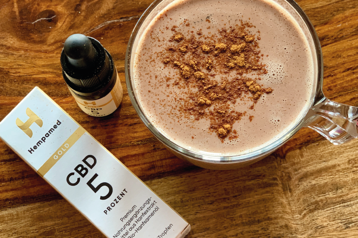 Recipe: hot chocolate with CBD - caffeine-free above the midday low