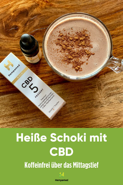 Hempamed recipe: Hot chocolate with CBD on Pinterest
