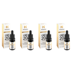 4x Hempamed Gold CBD Öl 20%