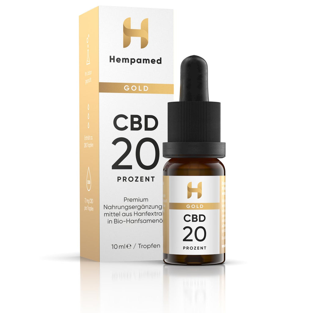 Hempamed Gold CBD Öl 20%