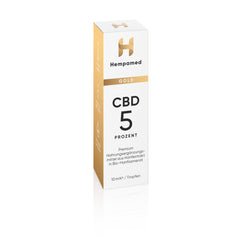 4x Hempamed Gold CBD Öl 5%