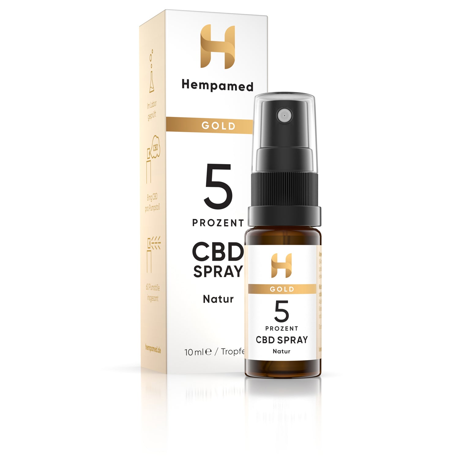 Hempamed CBD Mundspray Natur 5% (10ml)