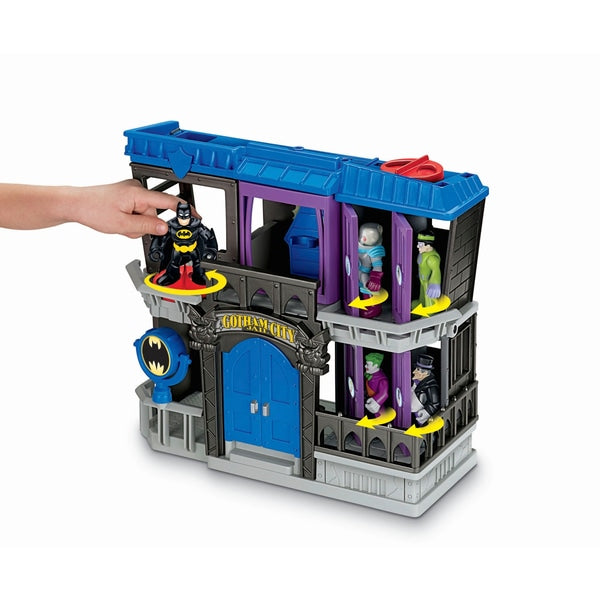 Imaginext DC Super Friends Gotham City Jail Playset - Leeval Shop Direct