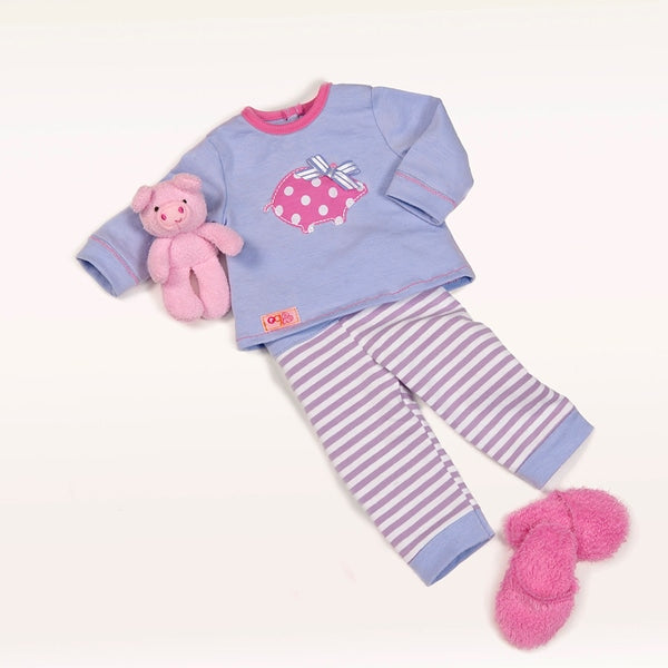 Our Generation Outfit Morning, Noon and Nighty Pj's - Leeval Shop Direct
