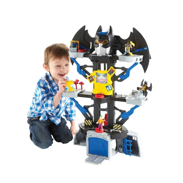 Imaginext DC Super Friends Transforming Batcave Playset - Leeval Shop Direct