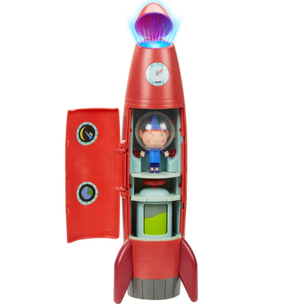 Ben & Holly Elf Rocket - Leeval Shop Direct