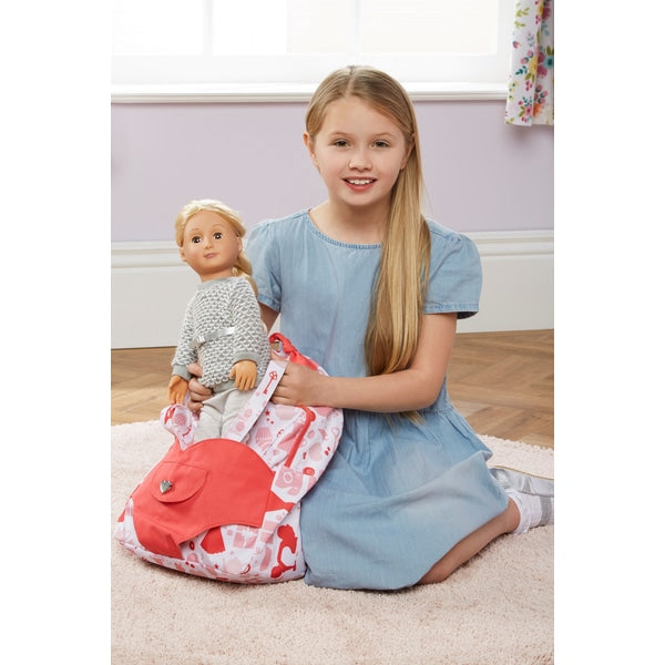 Our Generation Hop On Doll Carrier Back Pack - Party - Leeval Shop Direct