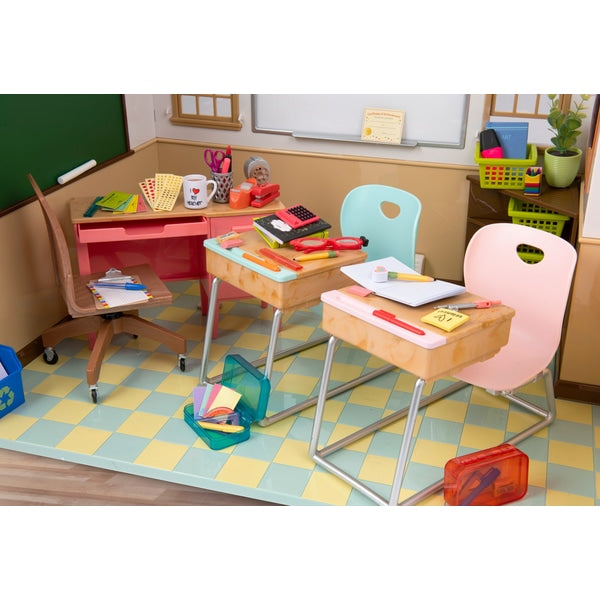 Our Generation Awesome Academy School Room - Leeval Shop Direct