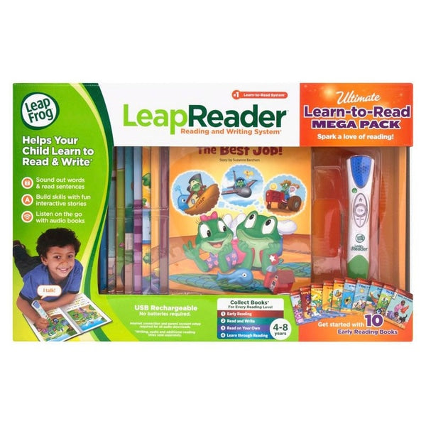 LeapReader Learn to Read Megapack - Leeval Shop Direct