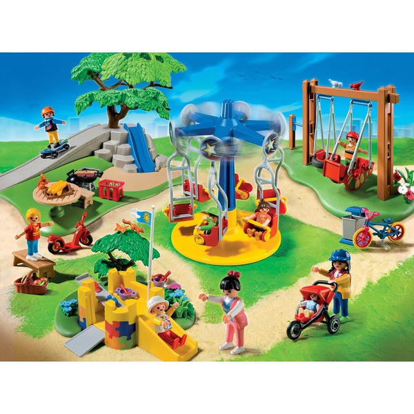 Playmobil 5024 Children's Playground - Leeval Shop Direct