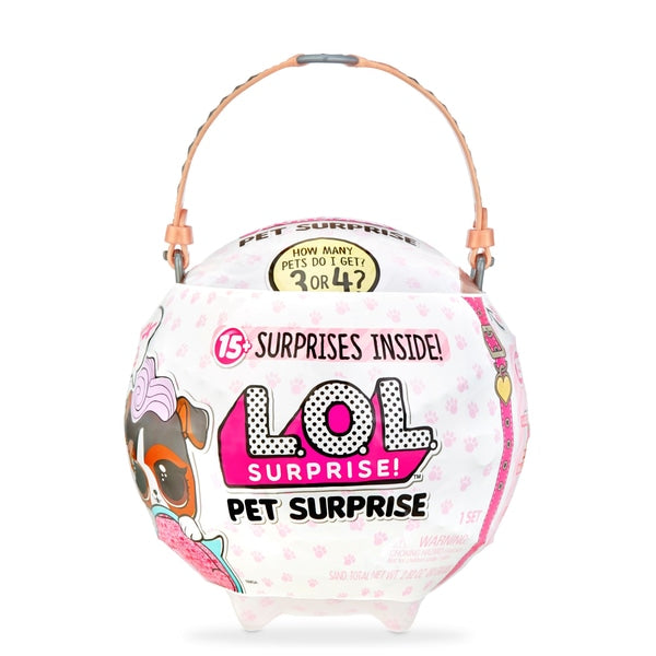 L.O.L. Surprise! Biggie Pets - Dog Assortment - Leeval Shop Direct