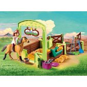 Playmobil 9478 DreamWorks Spirit Riding Free Horse Box Lucky and Spirit - Leeval Shop Direct