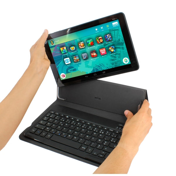 Kurio Android 10'' Tablet with Keyboard - Leeval Shop Direct
