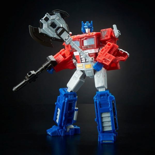 Optimus Prime Transformers Generations War for Cybertron Siege Voyager Collectible Action Figure - Leeval Shop Direct