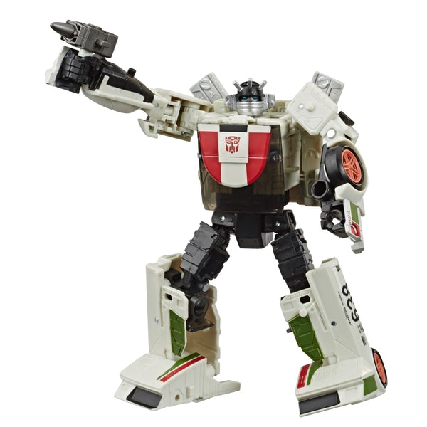 Wheeljack Transformers War for Cybertron Earthrise Deluxe Collectible Action Figure - Leeval Shop Direct