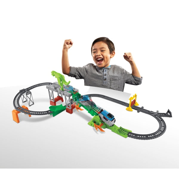 Thomas & Friends Trackmaster Deluxe Dino Escape Set - Leeval Shop Direct
