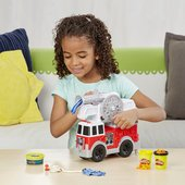 Play-Doh Wheels Fire Truck - Leeval Shop Direct