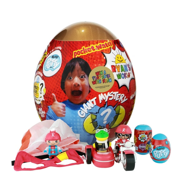 Ryan's World Giant Mystery Egg - Gold - Leeval Shop Direct
