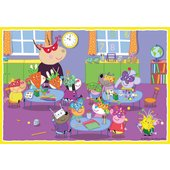 Ravensburger Peppa Pig: 2 x 12pc, 2 x 24pc piece Bumper Puzzle Pack - Leeval Shop Direct