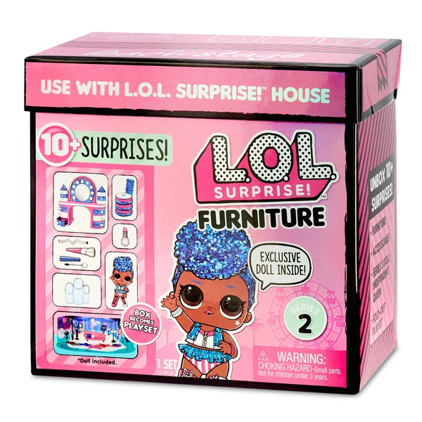 L.O.L. Surprise! Furniture Backstage with Independent Queen - Leeval Shop Direct
