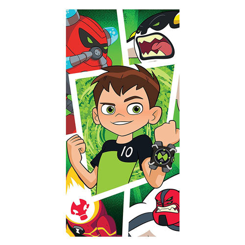 Official Ben 10 Beach Towel - Leeval Shop Direct