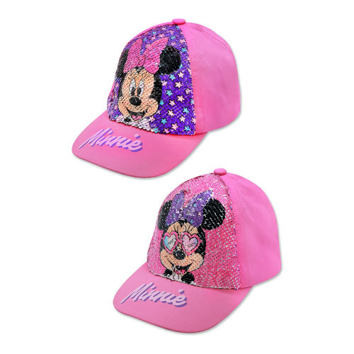 Minnie Mouse Sequin Baseball Cap - Leeval Shop Direct