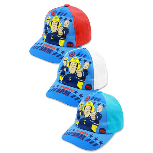 FIREMAN SAM DESIGN BASEBALL CAP - Leeval Shop Direct
