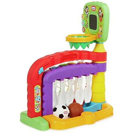 Little Tikes 3-in-1 Sports Activity Centre - Leeval Shop Direct