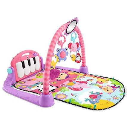 Fisher-Price Kick and Play Piano Gym - Leeval Shop Direct