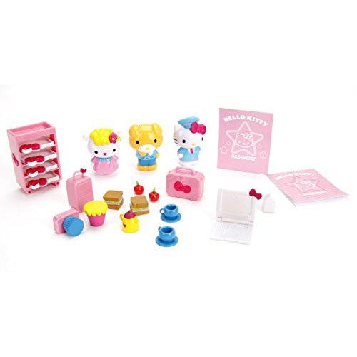 Hello Kitty Jet Plane Play Set - Leeval Shop Direct