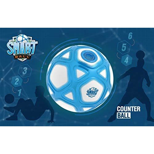 Smart Ball Kick Up Counting Football with Lights and Sounds - Leeval Shop Direct
