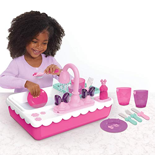 Minnie Happy Helpers Magical Sink, Pink - Leeval Shop Direct