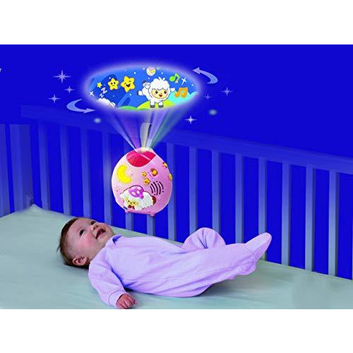 VTech Lullaby Sheep Cot Light Pink - Leeval Shop Direct