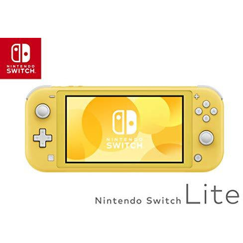 Nintendo Switch Lite - Yellow - Leeval Shop Direct