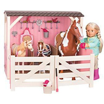 Our Generation Horse Stable Playset - Leeval Shop Direct