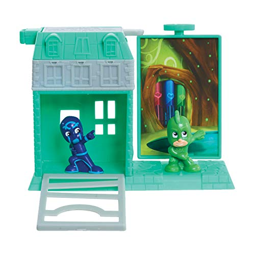 PJ MASKS NightTime Micros Trap & Escape Playset - Leeval Shop Direct