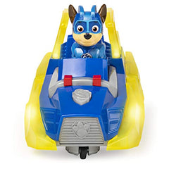 PAW PATROL Mighty Pups Charged Up Chase's Deluxe Vehicle - Leeval Shop Direct