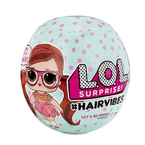 L.O.L. Surprise! Hairvibes Dolls with 15 Surprises and Mix & Match Hair Pieces - Leeval Shop Direct