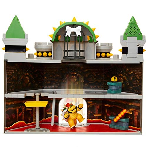 Nintendo Bowser's Castle Playset - Leeval Shop Direct