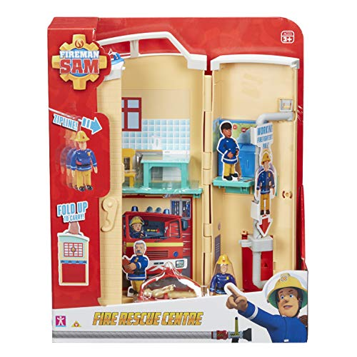 Fireman Sam Fire Rescue Centre Fire Station Playset