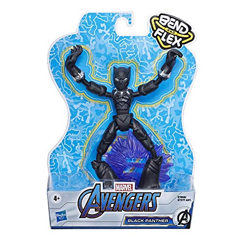 Marvel Avengers Bend And Flex Black Panther Action Figure - Leeval Shop Direct